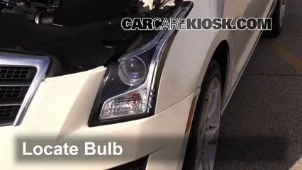 2014 Cadillac ATS 2.0L 4 Cyl. Turbo Luces Faro delantero (reemplazar foco)