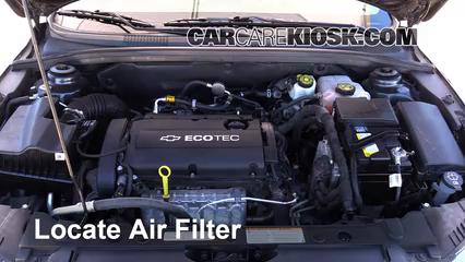 2014 Chevrolet Cruze LS 1.8L 4 Cyl. Sedan (4 Door) Air Filter (Engine)