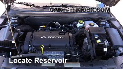 2014 Chevrolet Cruze LS 1.8L 4 Cyl. Sedan (4 Door) Windshield Washer Fluid