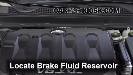 2014 Chevrolet Impala LT 3.6L V6 FlexFuel Brake Fluid