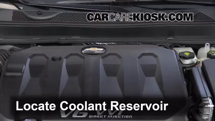 2014 Chevrolet Impala LT 3.6L V6 FlexFuel Coolant (Antifreeze)