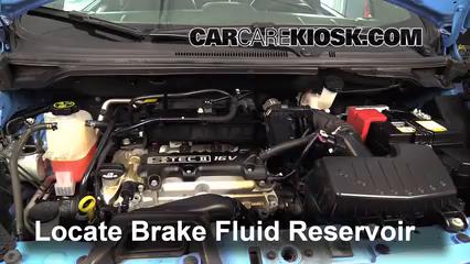2014 Chevrolet Spark LT 1.2L 4 Cyl. Liquide de frein