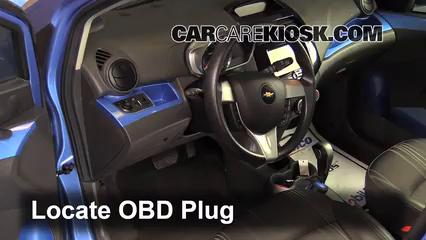 2014 Chevrolet Spark LT 1.2L 4 Cyl. Lumière « Check engine » du moteur