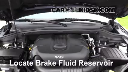 2014 Dodge Durango SXT 3.6L V6 FlexFuel Brake Fluid