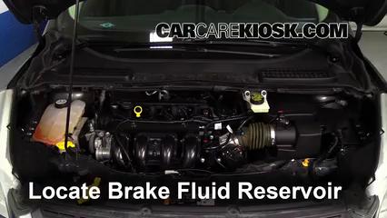 2014 Ford Escape S 2.5L 4 Cyl. Brake Fluid