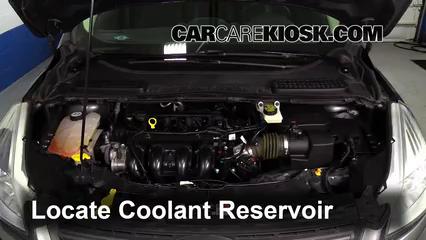 2014 Ford Escape S 2.5L 4 Cyl. Coolant (Antifreeze)