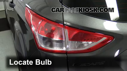 2014 Ford Escape S 2.5L 4 Cyl. Lights