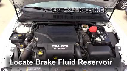 2014 Ford Taurus SHO 3.5L V6 Turbo Brake Fluid