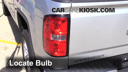 2014 GMC Sierra 1500 SLE 4.3L V6 FlexFuel Crew Cab Pickup Lights Reverse Light (replace bulb)