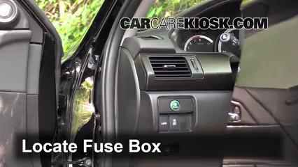 2014 Honda Accord EX-L 3.5L V6 Sedan Fusible (intérieur)