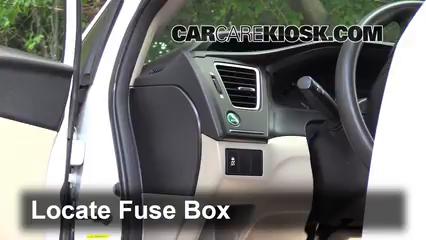 2014 Honda Civic LX 1.8L 4 Cyl. Sedan Fusible (intérieur)