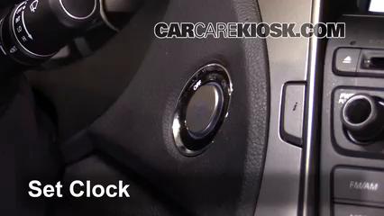2014 Hyundai Azera Limited 3.3L V6 Reloj