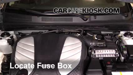 2014 Hyundai Azera Limited 3.3L V6 Fusible (motor)