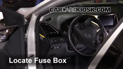 2014 Hyundai Azera Limited 3.3L V6 Fusible (interior)