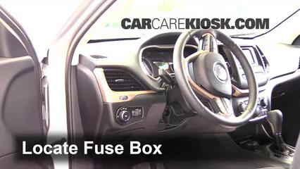 2014 Jeep Cherokee Latitude 3.2L V6 Fuse (Interior)