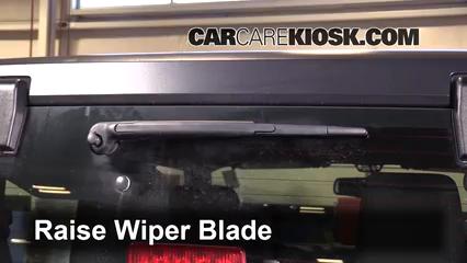2014 Jeep Wrangler Sport 3.6L V6 Windshield Wiper Blade (Rear)