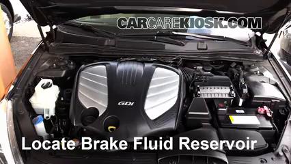 2014 Kia Cadenza Premium 3.3L V6 Brake Fluid