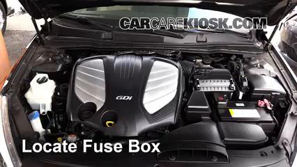 2014 Kia Cadenza Premium 3.3L V6 Fuse (Engine)