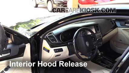 2014 Kia Cadenza Premium 3.3L V6 Belts