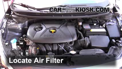 2014 Kia Forte LX 1.8L 4 Cyl. Air Filter (Engine)