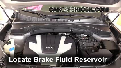 2014 Kia Sorento EX 3.3L V6 Brake Fluid