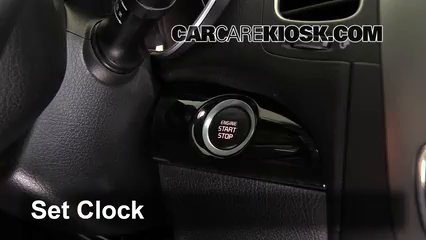 2014 Kia Sorento EX 3.3L V6 Clock