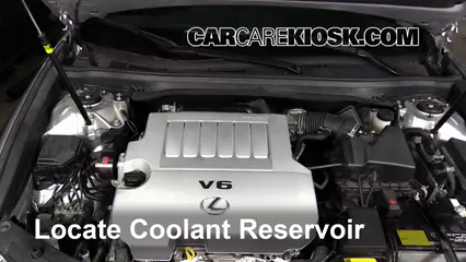 2014 Lexus ES350 3.5L V6 Coolant (Antifreeze) Check Coolant Level
