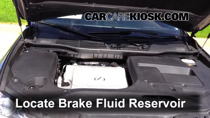 2014 Lexus RX350 3.5L V6 Brake Fluid