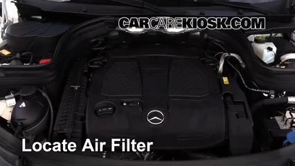 2014 Mercedes-Benz GLK350 4Matic 3.5L V6 Air Filter (Engine)