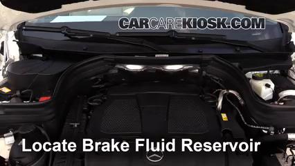 2014 Mercedes-Benz GLK350 4Matic 3.5L V6 Brake Fluid