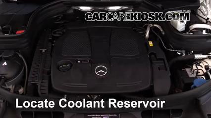 2014 Mercedes-Benz GLK350 4Matic 3.5L V6 Coolant (Antifreeze)