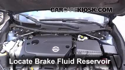 2014 Nissan Altima S 2.5L 4 Cyl. Brake Fluid
