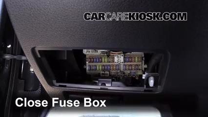 Interior Fuse Box Location: 2013-2018 Nissan Altima - 2014 Nissan Altima S  2.5L 4 Cyl. | 2014 Nissan Altima Fuse Box |  | CarCareKiosk