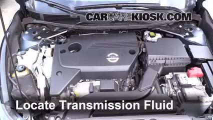 2014 Nissan Altima S 2.5L 4 Cyl. Transmission Fluid