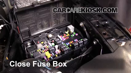 Interior Fuse Box Location: 2011-2018 Ram 1500 - 2014 Ram 1500 Big Horn  3.6L V6 FlexFuel Crew Cab Pickup | 2014 Ram 1500 Fuse Box Location |  | CarCareKiosk