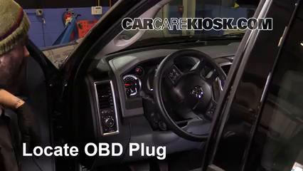 2014 Ram 1500 Big Horn 3.6L V6 FlexFuel Crew Cab Pickup Compruebe la luz del motor