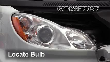 2014 Smart Fortwo Passion 1.0L 3 Cyl. Luces Luz de giro delantera (reemplazar foco)
