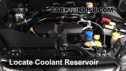 2014 Subaru XV Crosstrek Limited 2.0L 4 Cyl. Pérdidas de líquido Refrigerante (anticongelante) (arreglar pérdidas)