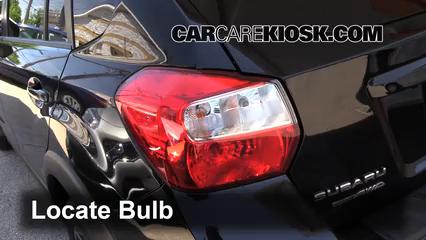 2014 Subaru XV Crosstrek Limited 2.0L 4 Cyl. Luces Luz de freno (reemplazar foco)