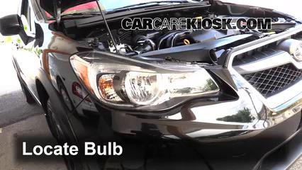 2014 Subaru XV Crosstrek Limited 2.0L 4 Cyl. Luces Luz de carretera (reemplazar foco)