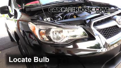 2014 Subaru XV Crosstrek Limited 2.0L 4 Cyl. Luces Luz de estacionamiento (reemplazar foco)