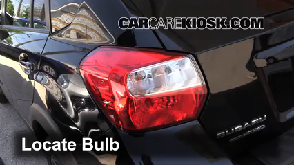2014 Subaru XV Crosstrek Limited 2.0L 4 Cyl. Luces Luz de reversa (reemplazar foco)