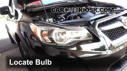 2014 Subaru XV Crosstrek Limited 2.0L 4 Cyl. Luces Luz de giro delantera (reemplazar foco)