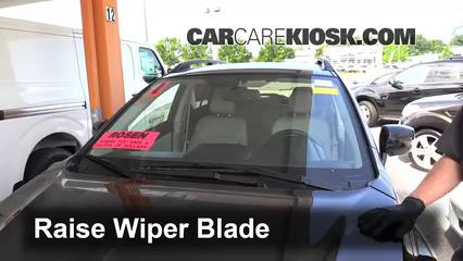 2014 Subaru XV Crosstrek Limited 2.0L 4 Cyl. Escobillas de limpiaparabrisas delantero Cambiar escobillas de limpiaparabrisas