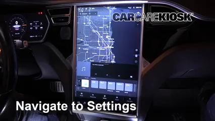 2014 Tesla S Electric Bluetooth