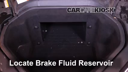 2014 Tesla S Electric Brake Fluid