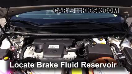 2014 Toyota Avalon Hybrid XLE 2.5L 4 Cyl. Brake Fluid