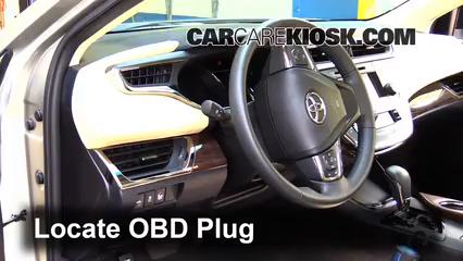 2014 Toyota Avalon Hybrid XLE 2.5L 4 Cyl. Check Engine Light