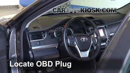2014 Toyota Camry SE 3.5L V6 Check Engine Light