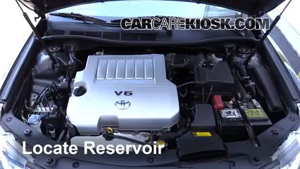 2014 Toyota Camry SE 3.5L V6 Windshield Washer Fluid